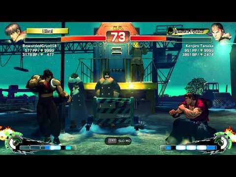 RewardedGrunt18 [Guy] Vs Kenjiro [Ryu] - Ranked Match