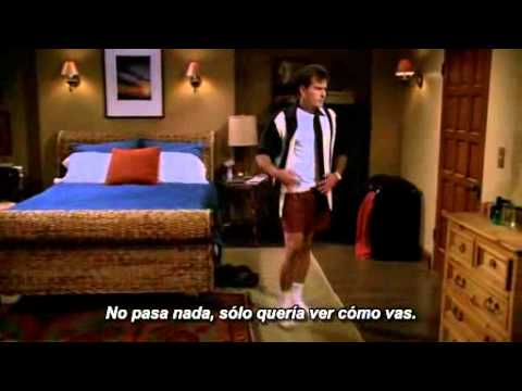 Primera y ultima escena de Charlie Sheen en Two and a half