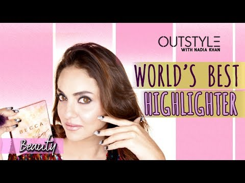 Beauty | World's Best Highlighter Review | Swatches & Comparison Of Becca Palette | Outstyle.com
