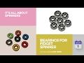 default - 30 Bearing 608ZZ 8x22x7 Shielded Greased Miniature Ball Bearings
