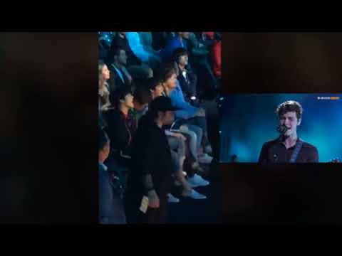 BTS reaction to Shawn Mendes 'In My Blood'...