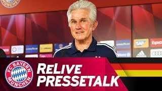 ReLive | FC Bayern Press Conference w/ Jupp Heynckes | #RBLFCB