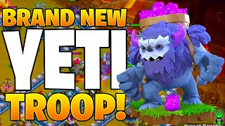 THE NEW YETI TROOP IS A BEAST! - Clash of Clans
