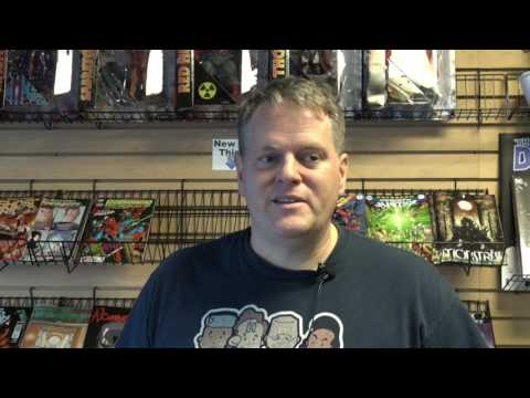 Galactic Comic Store Interview