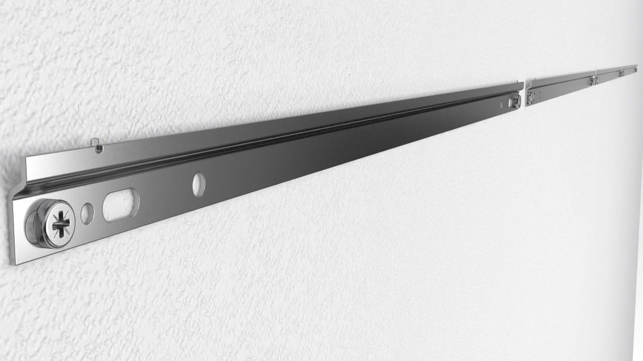 Keukenkast Ophangen Ikea : Bovenkast ophangen en stellen hacker systemat keukens youtube