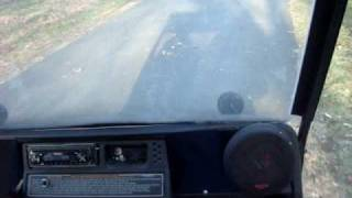ez go golf cart with quad engine 5 speed semi-auto