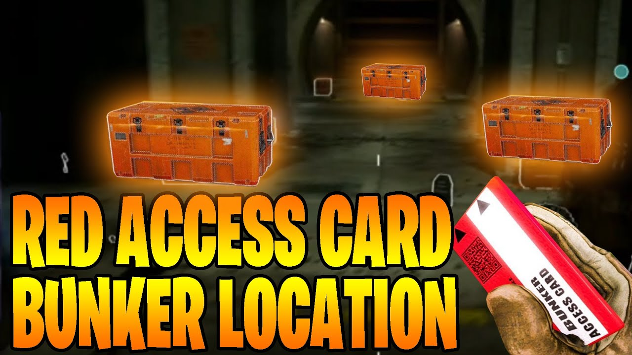 COD Warzone Red Access Card bunker location works NO CODE NEEDED