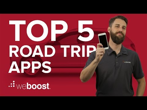 Top 5 Apps For Your Next Road Trip | WeBoost