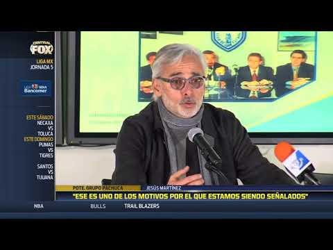 """""""No estamos haciendo nada malo"""": Jesús Martinez"""