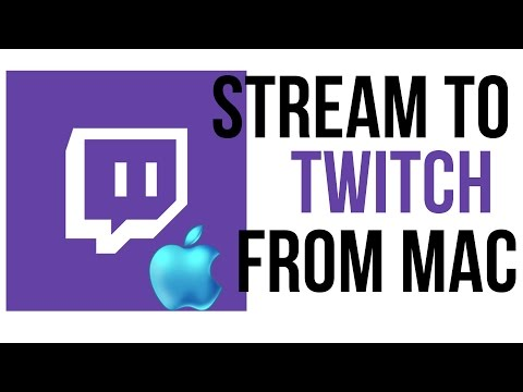 How To Stream To Twitch From A Mac - Twitch Tutorial - YouTube