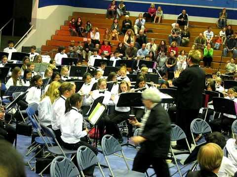 Niguel Hills Middle School Band 2009 - Shockwave