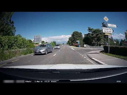 Dashcam suisse - Bad driver Switzerland #3-2016 - Conducteur en Suisse #3-2016