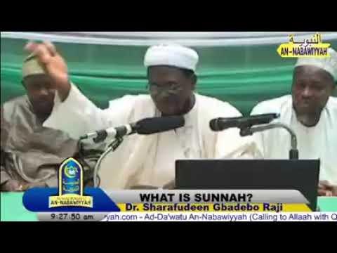 Download What is Sunnah?   Ash-Shaykh Dr. Sharafudeen Gbadebo Raji