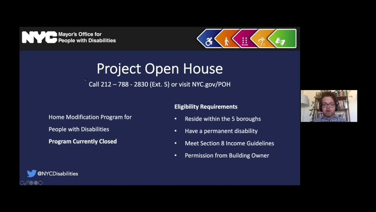 Mayor's Office for People with Disabilities: Providing Resources for People with Disabilities