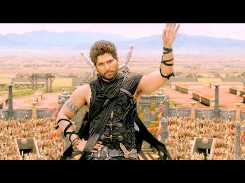Rudrama Devi Malayalam Movie L Allu Arjun Accepting The Challenge L Mazhavil Manorama