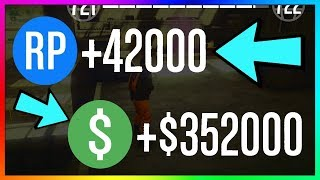 How To Make $352,000 & 42,000 RP PER GAME in GTA 5 Online | NEW Best Unlimited Money Guide/Method