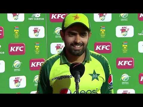 Post match Presentation Babar Azam || Man of the match || Pakistan won 3rd T20 2021