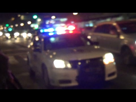 Mexico City Transit Police (SSP CDMX) responding in code 3
