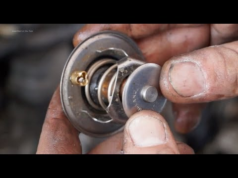 Cooling Systems Diagnosis -testing a thermostat - - Land Rover tdi engines