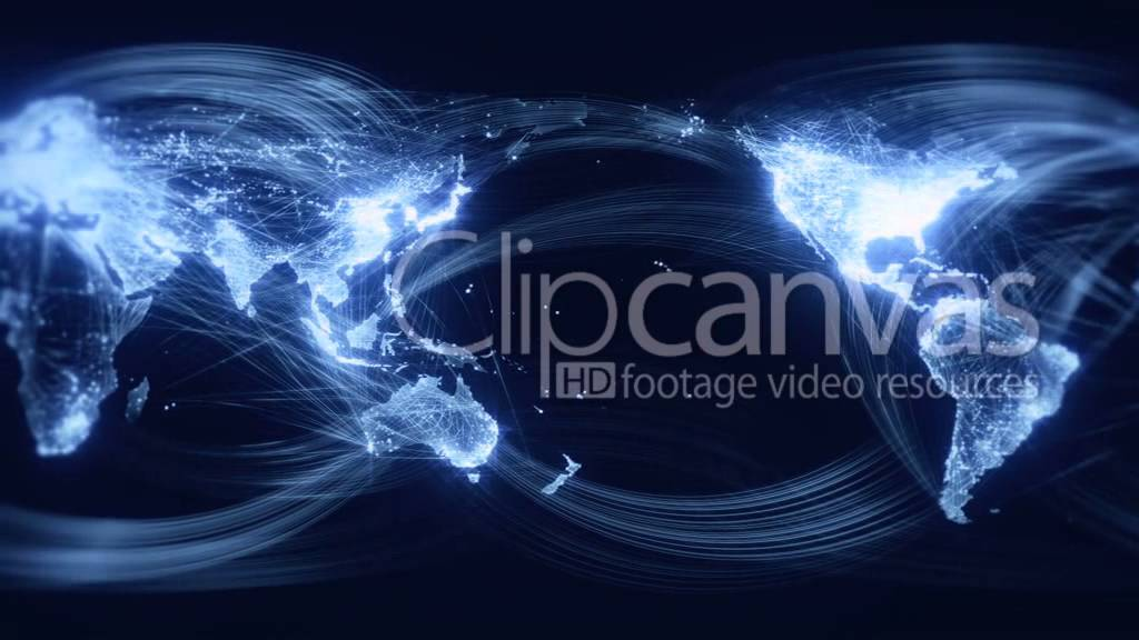 World network map animation hd stock footage clip youtube world network map animation hd stock footage clip sciox Images
