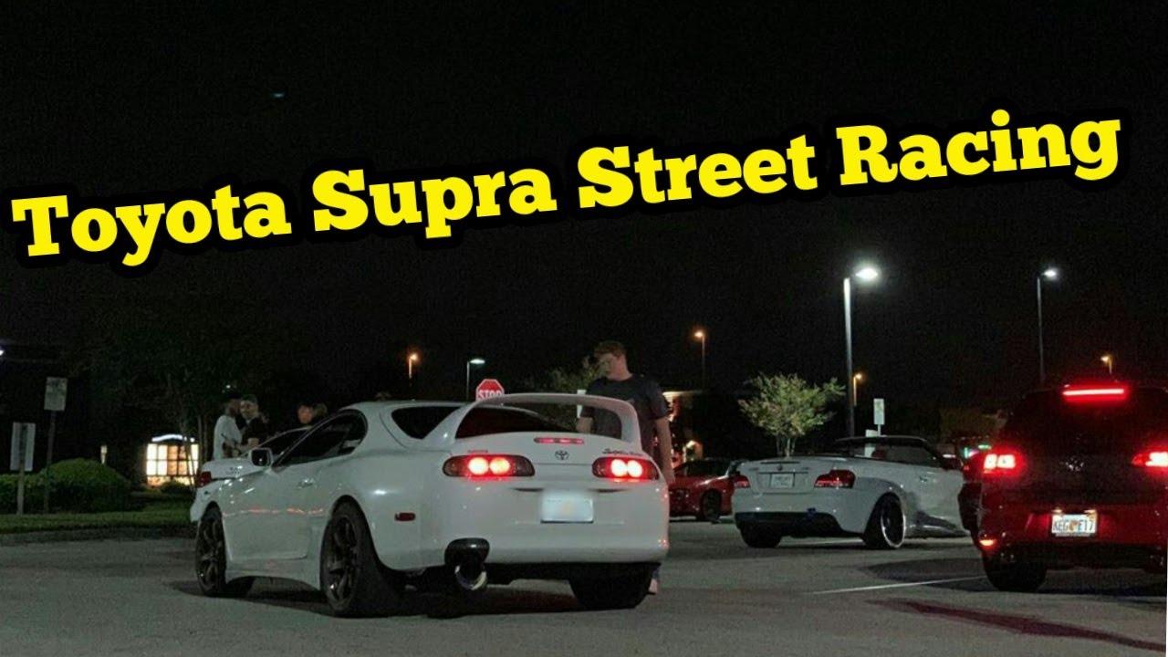 MKIV TOYOTA SUPRA RACES SUPERCHARGED MUSTANG & MKV 2020 TOYOTA SUPRA! + More Racing!