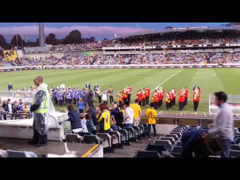 Canberra Brass and Canberra City Band perform Waltzing Matilda and Thunderstruck