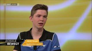 Badminton im Schulsport-Magazin