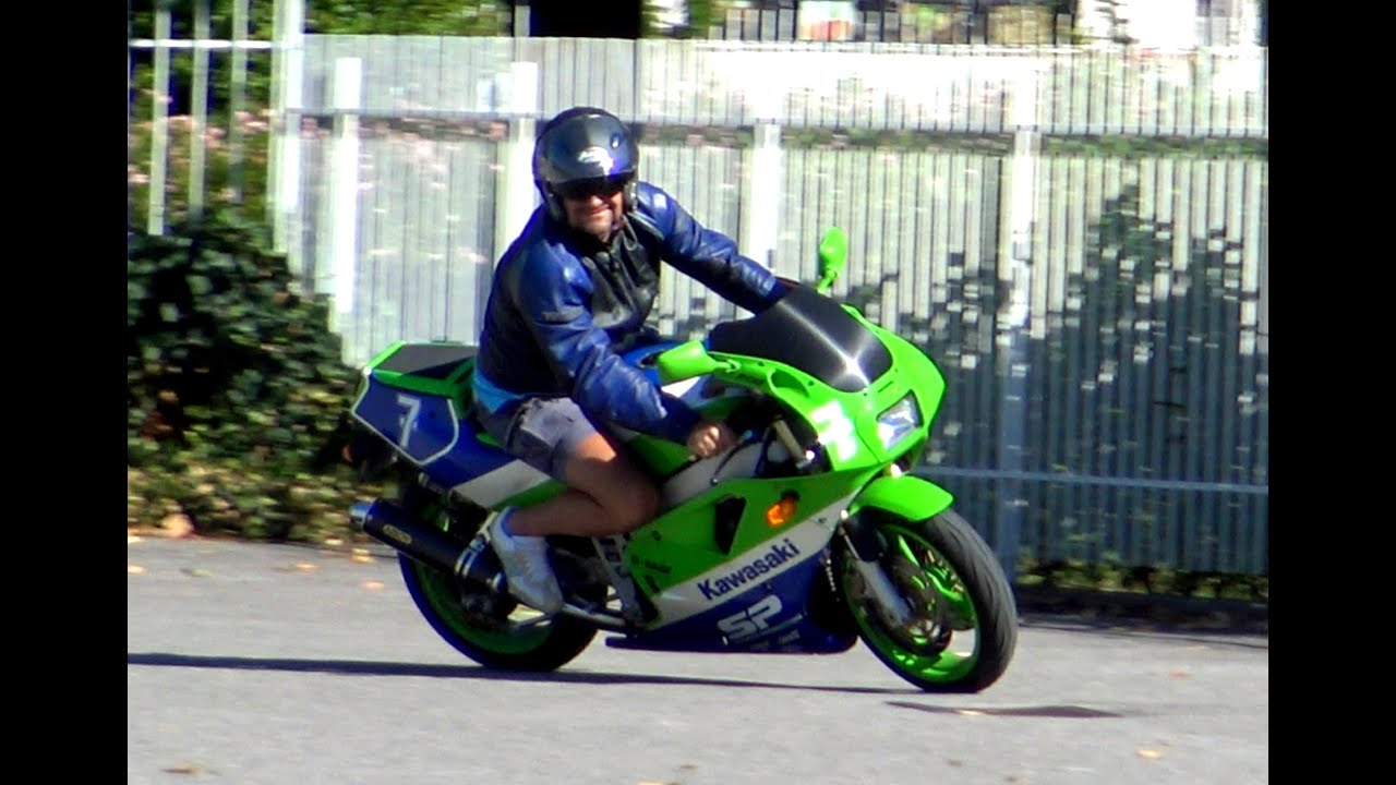 KAWASAKI ZXR 400 SOUND VIDEO 4K