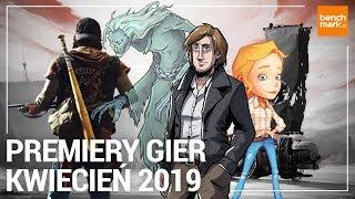 Premiery gier - kwiecień 2019