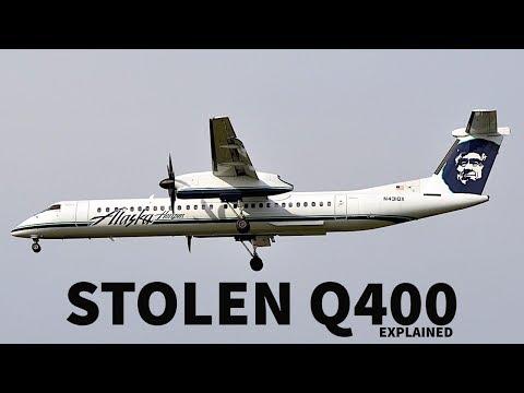 The STOLEN Q400 Incident Explained