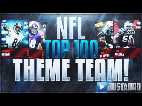 NFL TOP 100 PLAYERS OF 2016 TEAM! Madden Mobile