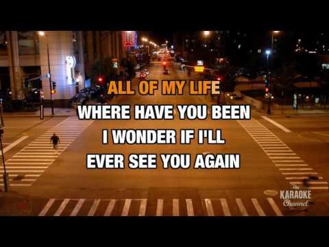 Again in the style of Lenny Kravitz | Karaoke with Lyrics