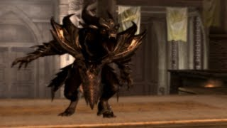 Skyrim Mod of the Day - Episode 98: Daedric Werewolf Lord Armor Form/Flame Atronach Armor