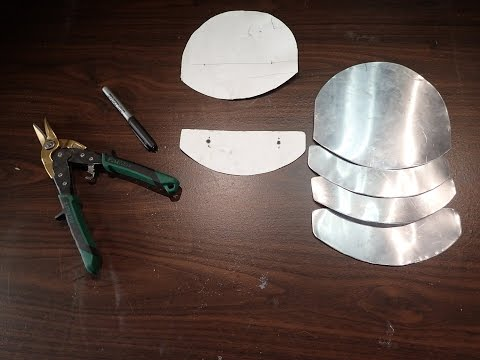 Armouring for Cosplay 4 - Cut It Out