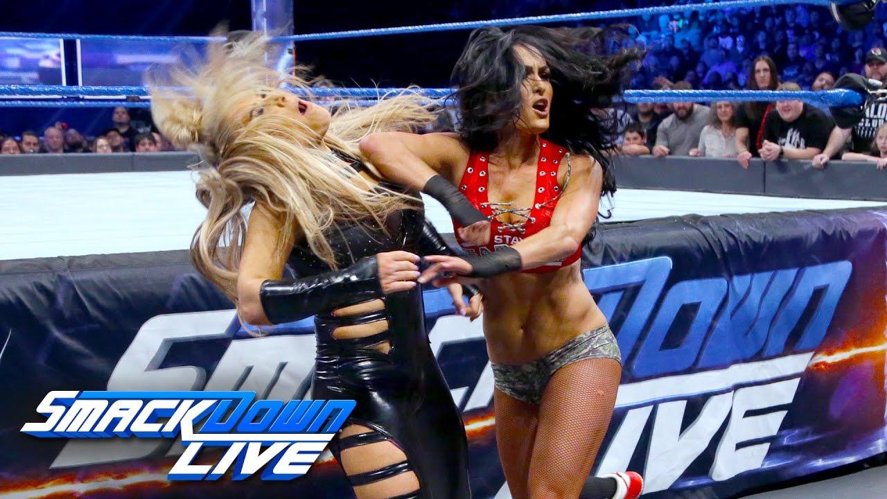 Download Nikki Bella vs. Natalya - Falls Count Anywhere Match: SmackDown LIVE, Feb. 21, 2017