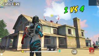 AN94 Op Weapon in Solo vs Squad Game Must Watch Gameplay - Garena Free Fire