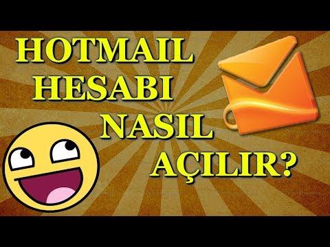 Hotmail Hesabı Nasıl Açılır? Hotmail Hesap Açma(2017)