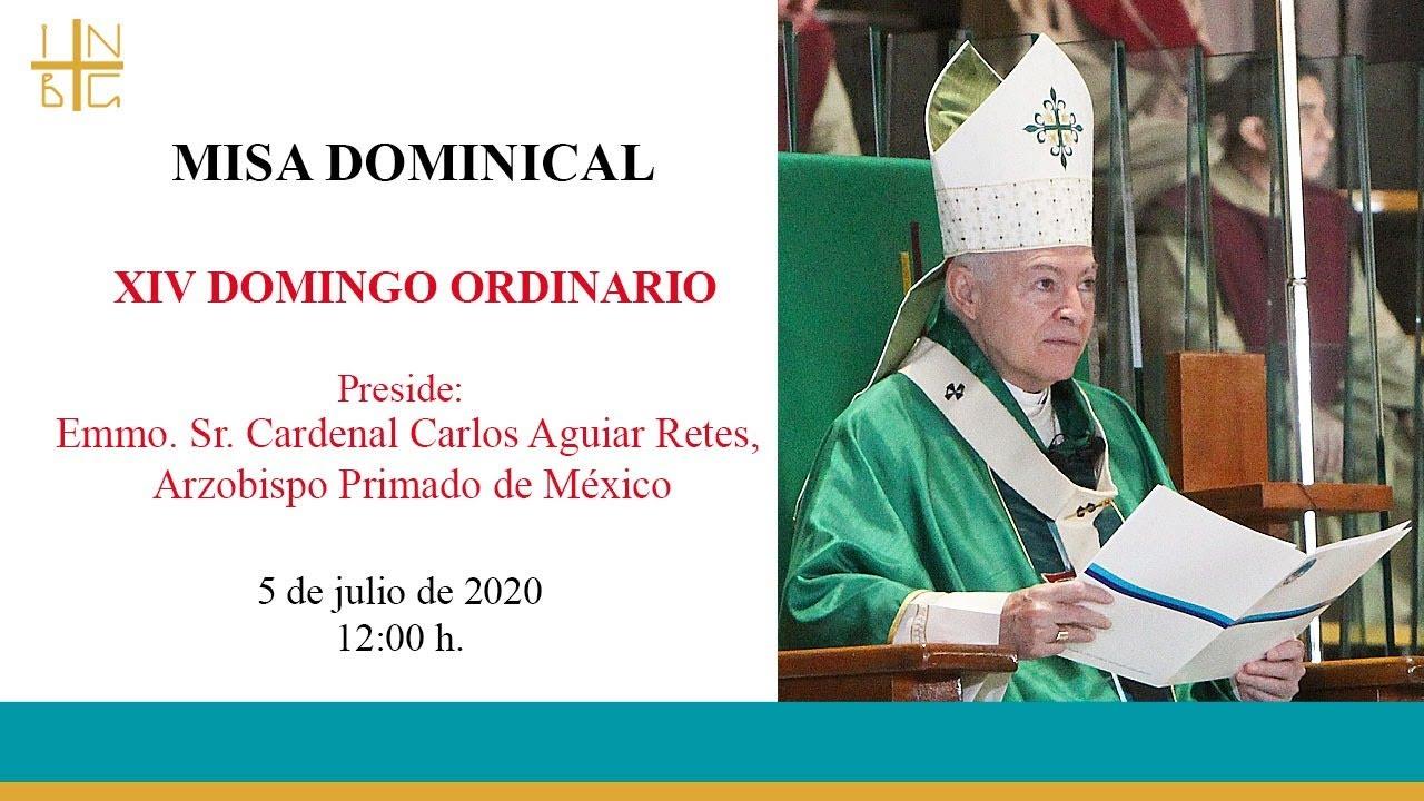 Misa Dominical del Emmo Sr. Cardenal, 5 de julio de 2020, 12:00 h.