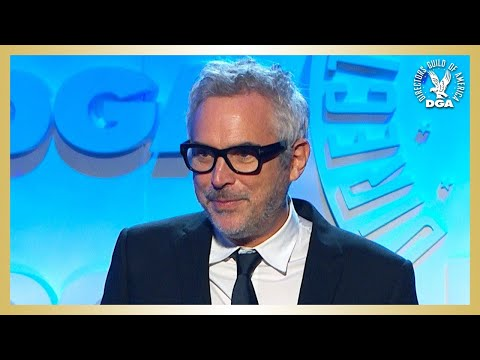 Alfonso Cuarón 71st Annual DGA Awards Feature Film Winner Acceptance Speech