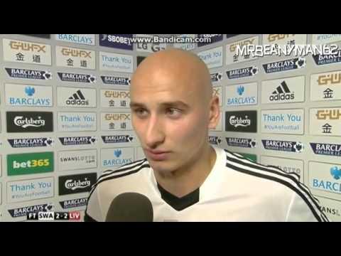 Swansea 2-2 Liverpool - Jonjo Shelvey Post Match Interview