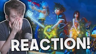 Kingdom Hearts III | Opening Movie Trailer REACTION!