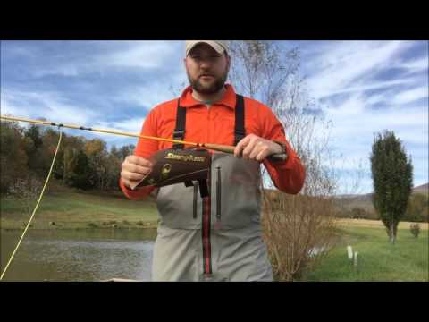 Adaptive fly fishing with Vivarelli reel and Strong-Arm