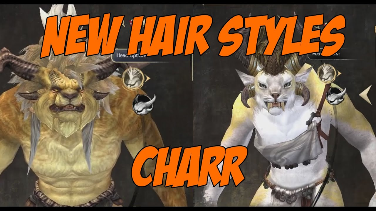 New Hair Styles Charr Guild Wars 2 April 2015 Youtube