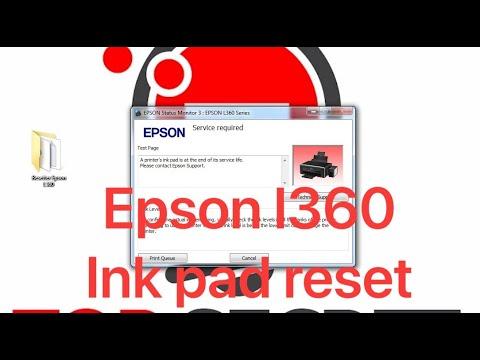 Epson L220 Reset How To Reset