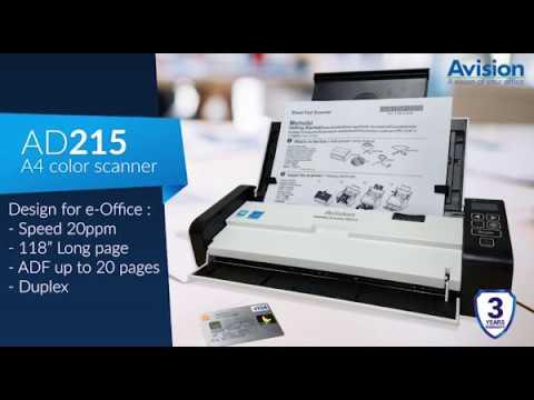 Avision Scanner AD215