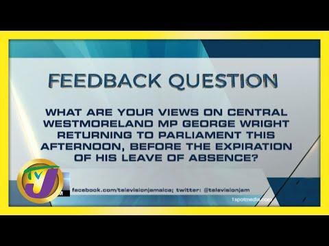 Feedback Question   TVJ News - June 8 2021