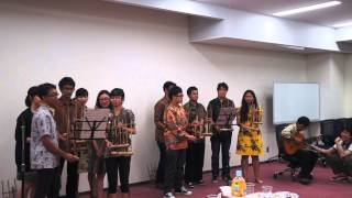 PPI Todai - Angklung Performance (Doraemon)