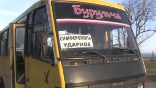 Страшная авария в Крыму.mpg(Водителю микроавтобуса, который влетел в рейсовый автобус «Эталон» под Белогорском , зажало ноги, его дебло..., 2013-02-13T16:36:13.000Z)