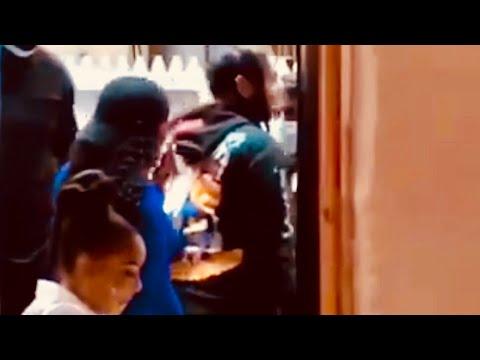 Goons Kick Tekashi69 Out Of Harlem Restaurant Ricardo's