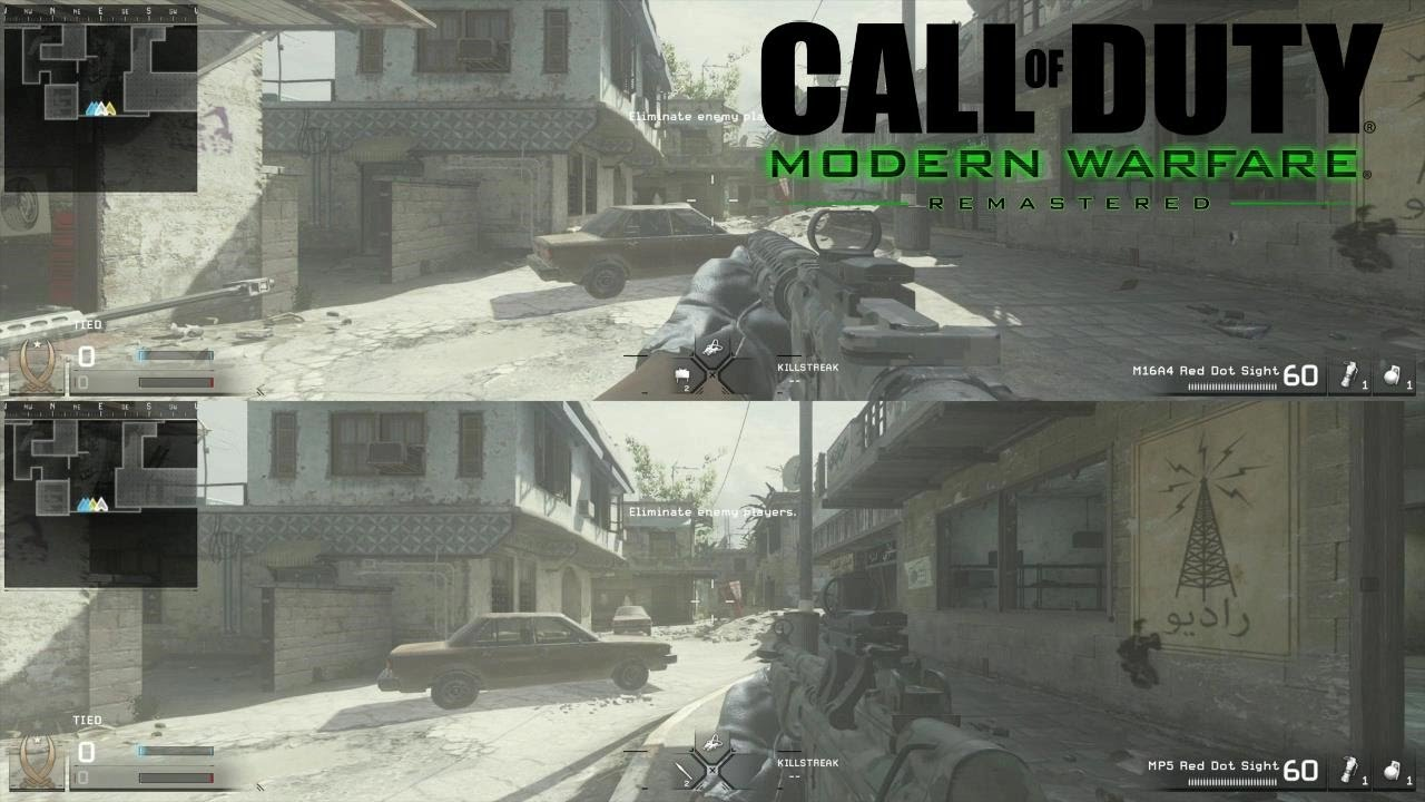 Let S Play Call Of Duty Modern Warfare Remastered Multiplayer Split Screen Youtube